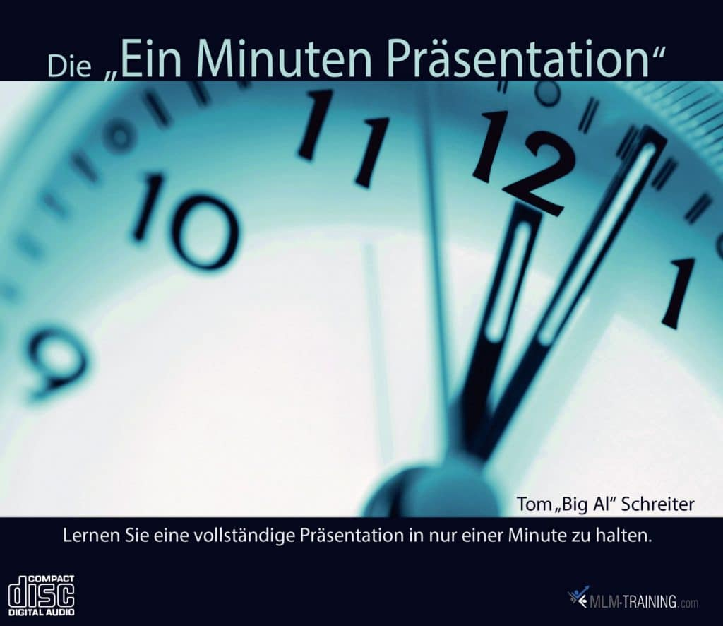 """Die """"Ein Minuten Präsentation"""""""